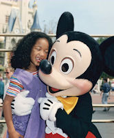 Mickey and friend at Disney's Magic Kingdom Walt Disney Company