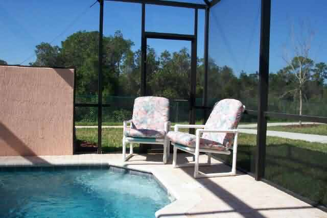 Splash pool at Windor Palms Orlando Townhomes