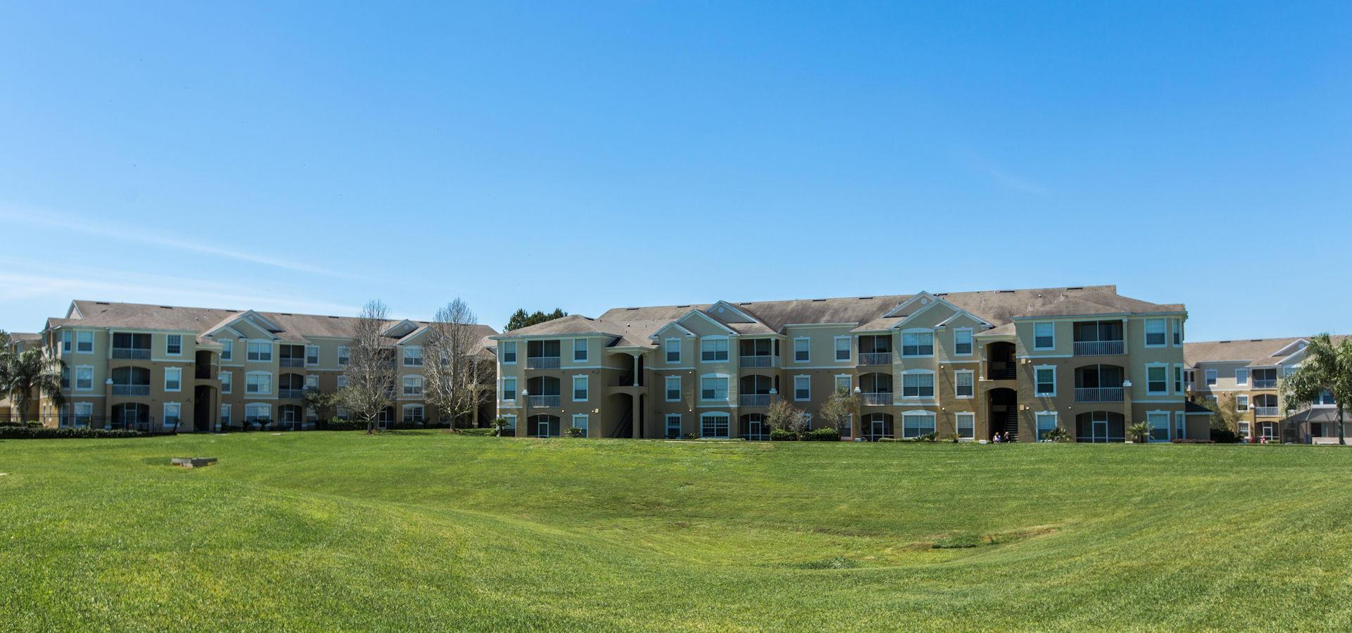 Two and three bedroom condos