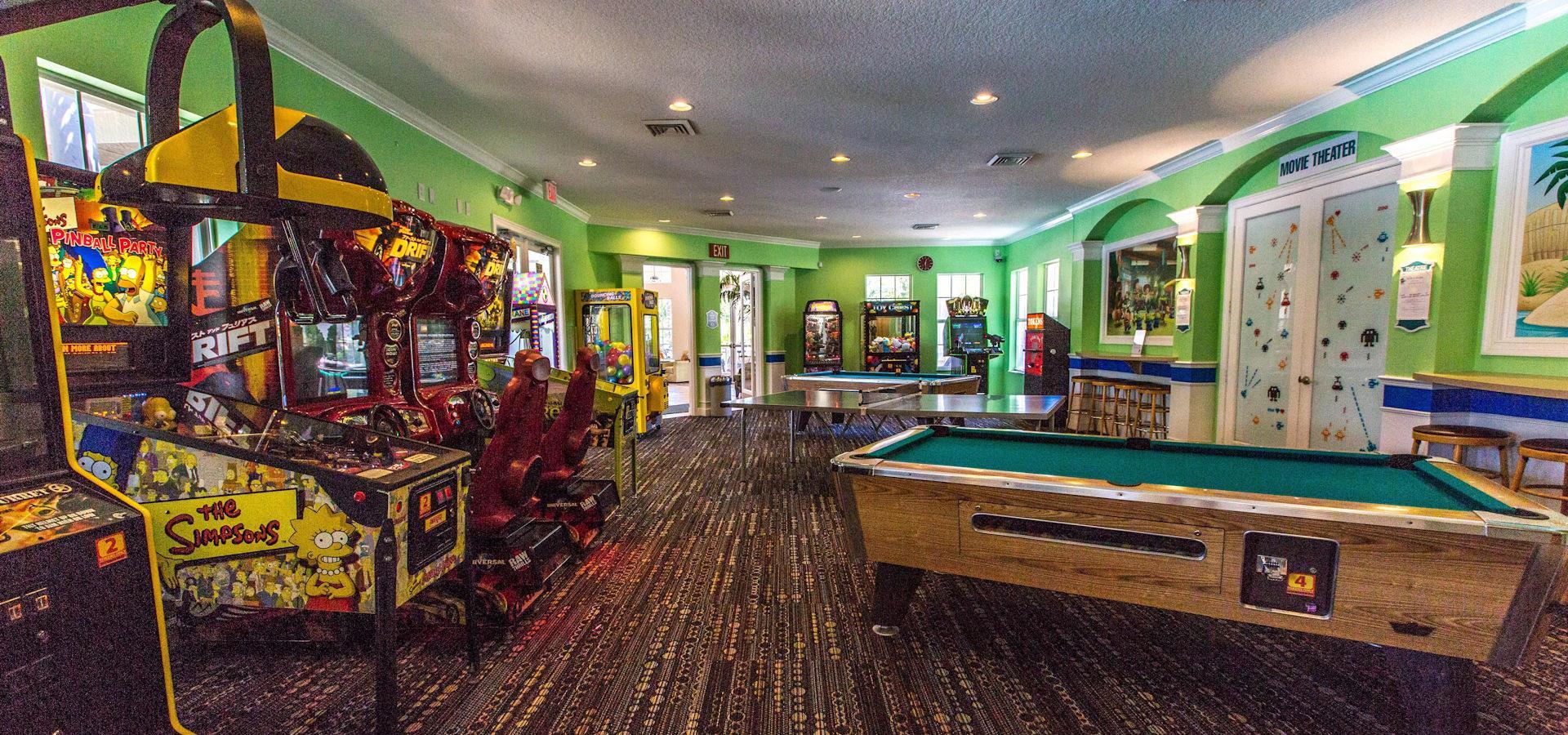 florida villa services game rooms. Family Arcade Florida Villa Services Game Rooms V